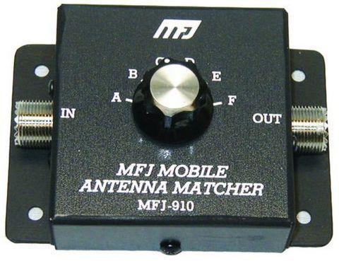 MFJ-910 モービルアンテナCマッチングユニット