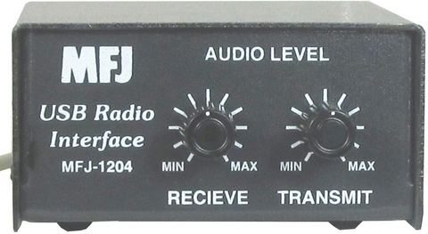 MFJ-1204メーカー別無線機対応小型インターフェースu