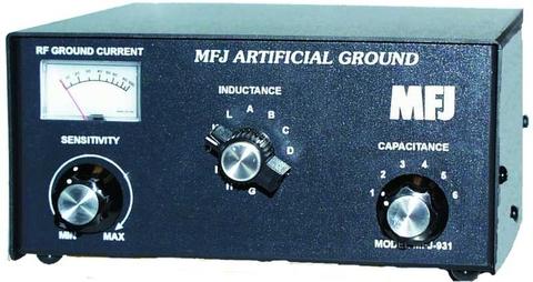 MFJ-931 人工グランド ハイパワーバージョンua