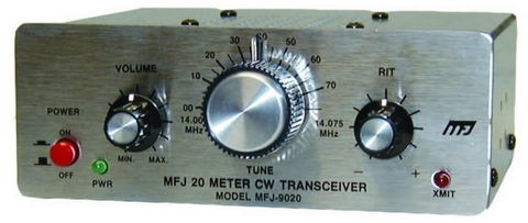 MFJ-9000シリーズ、MFJ-9040 5w CWトランシーバー