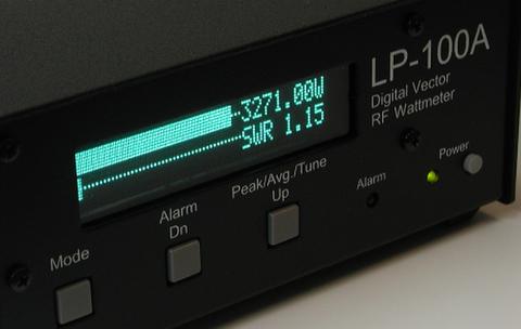 LP-100A 50mWから10kW対応 多機能パワー計