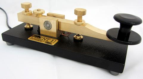 KENT KT-1モールスキー  重厚感溢れる手堅い縦振電鍵