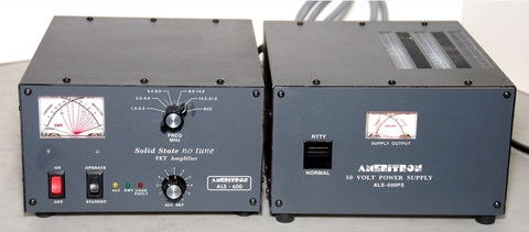 ALS-600SY 600WMaxソリッドステートリニアアンプ電源セット アメリトロン