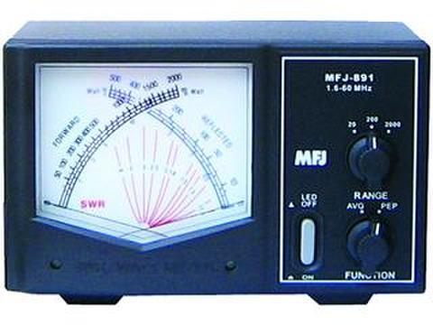 見やすいのが一番、高級ジャイアントSWR・電力計 MFJ-891/892/893/894