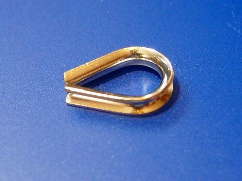 ステンレス製シンブル 3mm用 ロープワイヤーに