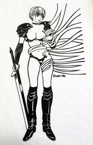 Girl's Knight VS Tentacle T-shirts