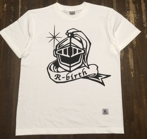 R-birth mega helm logo Tee