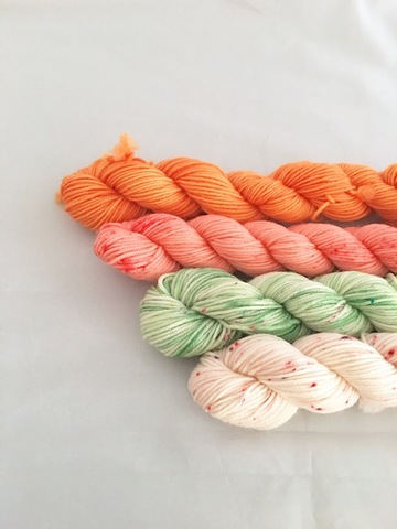 【Sold Out】Mini Skein 4色セット