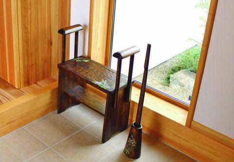 玄関椅子 小