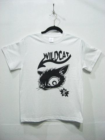 CAT-LOGO S/S tee【WILDCAT】