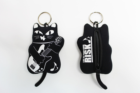 BASS-CAT WET COIN POUCH