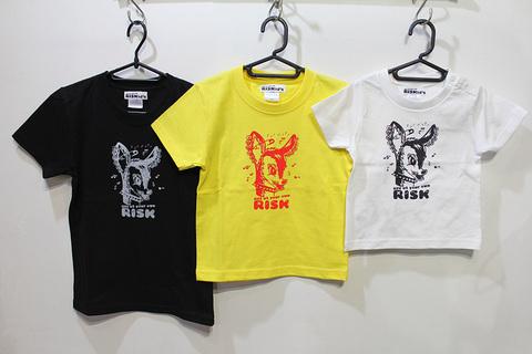 BAMBI Kid's S/S tee(Type A)顔