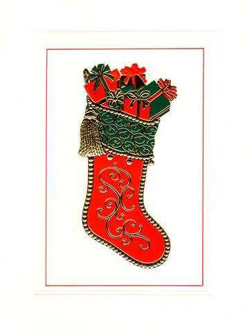 "Christmas Card ""Christmas Stockings"""
