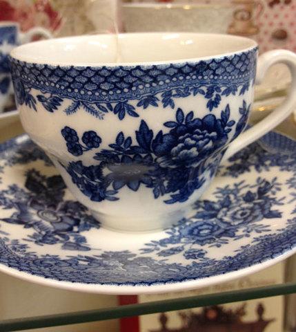 "Johnson Bros. ""Asiantic Pheasants Blue"""