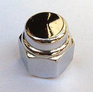 キャップナット 2個セット 7/16-20 クローム Colony製 8419-2