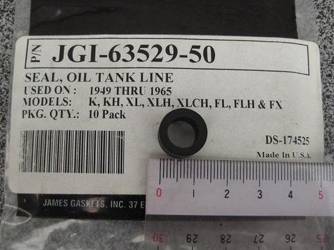 JAMES 1949-65 オイルラインシール 63529-50