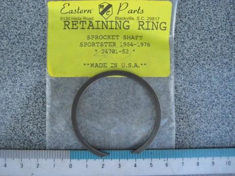 1954-76 スプロケットシャフトベアリングリテーニングリング 24701-52