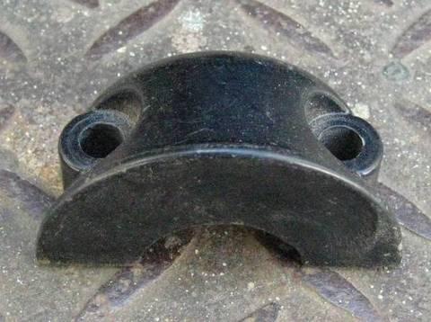 1982-95 ブレーキ クラッチ レバー クランプ 45044-82 黒 _4