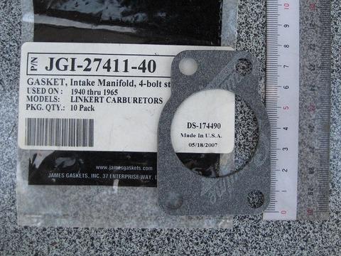 1940-65 マニホールドガスケット27411-40