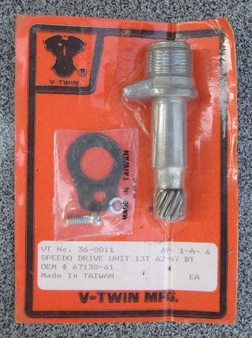 1962-67年 スピードメータードライブユニット 67130-61 13T