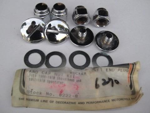 ロッカーシャフトエンドプラグセット 8222-8 1966-70 1957-70