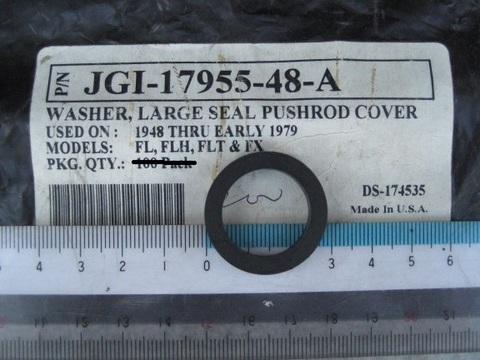 JAMES 1948-E79 プッシュロッドシール 大 ゴム 17955-48-A 下 タペット