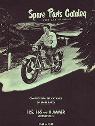 1948-55年 125、165 and ハマー スーパーテン パーツブック