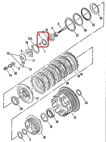 XL1986-90 ベアリングガイドリテーニングリング 11045