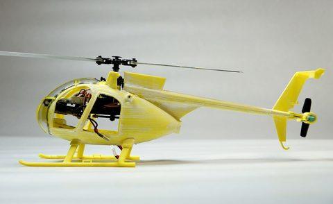 MD-500/MH-6 リトルバード/AH-6 キラーエッグ(K110用スケールボディー)