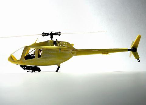 Bell 505/ジェットレンジャーX(K110用スケールボディー)