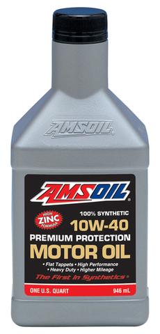 AMSOIL (10W-40)プレミアムプロテクションモーターオイル