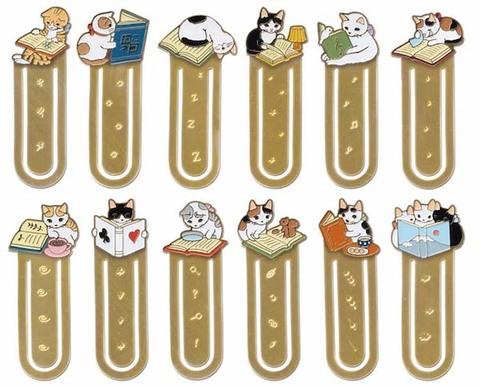 猫たちのブックマーカー/しおり【ポタリングキャット】
