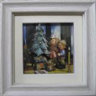 S124 クリスマスツリー シャドーボックス