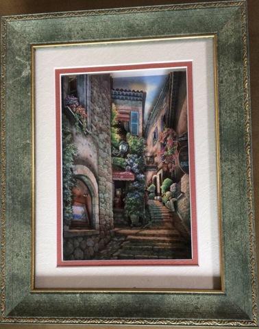 R108 ギャラリーの街角 シャドーボックス