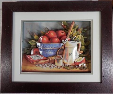 R86 りんごとミルク シャドーボックス