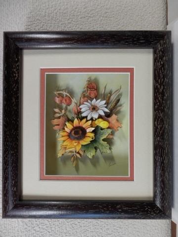 R35 秋の花 シャドーボックス