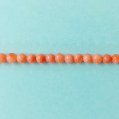 深海サンゴ 丸玉 3.3~3.5mm