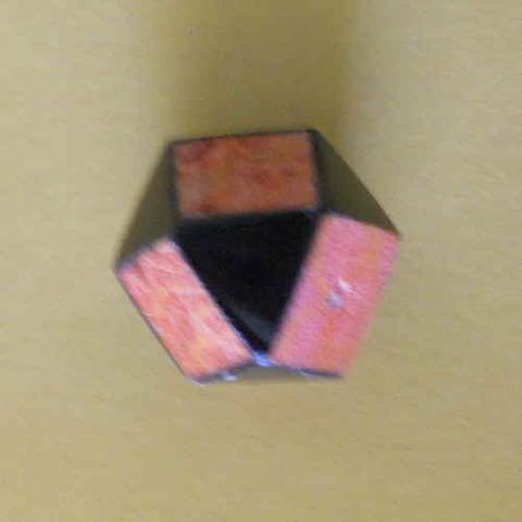 ダイヤ型 赤サンゴxペンシェル