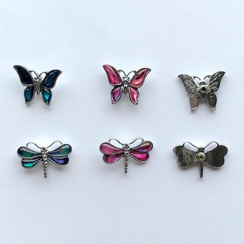 パウア トンボ・蝶