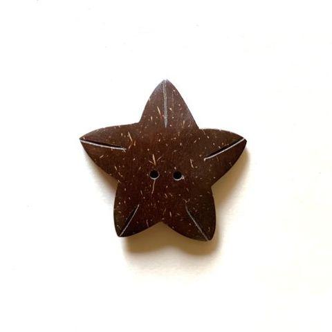 1560 ココシェル ボタン 花(星形)