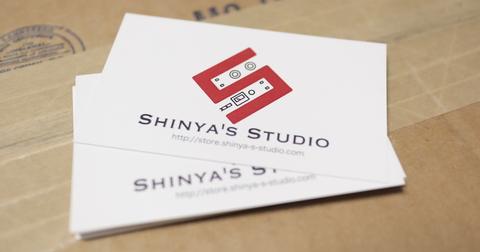 Shinya's Studio 名刺