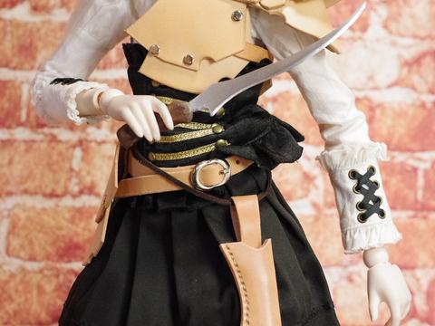 短剣③ 1/3ドール用 金属製武器257