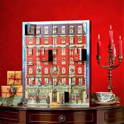 F&Mフォートナム&メイソン木製ミュージカルクリスマスアドベントカレンダー(11/14~お届けします)