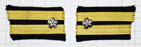 海軍襟章 少佐 複製