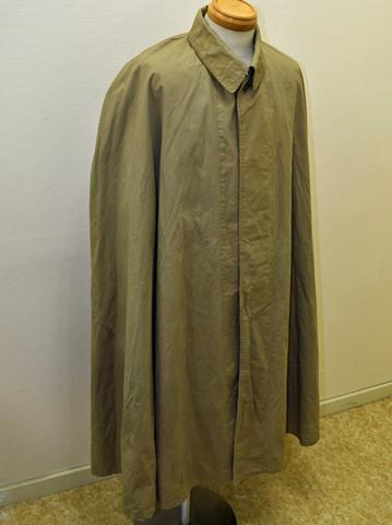陸軍マント型雨衣 官給品