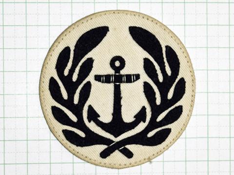 海軍臂章 三等兵曹夏服用