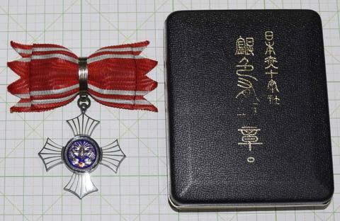 日本赤十字銀色有功章 女性用