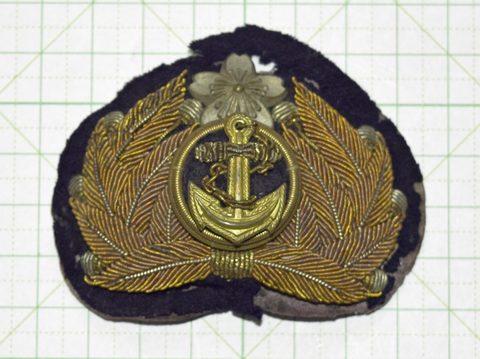 海軍軍帽 前章士官用