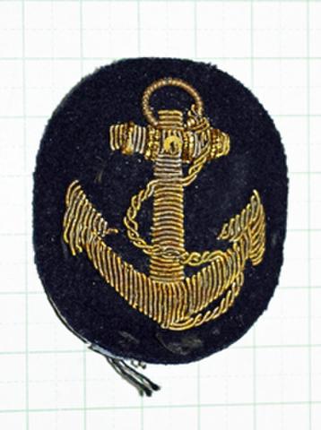 海軍軍帽前章 生徒用