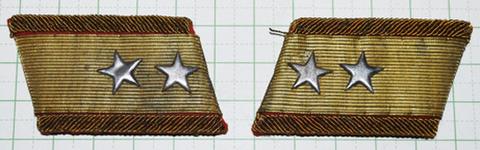 陸軍襟章 三式中将